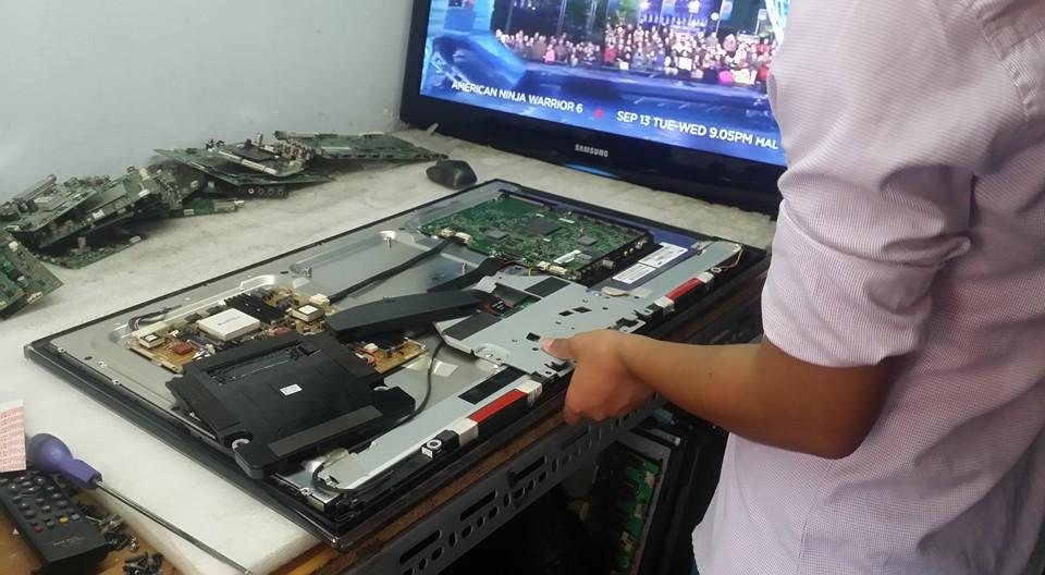 Sửa tivi tại cầu thăng long